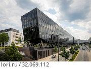 City view, Schuetzenbahn, Essen, Ruhr area, North Rhine-Westphalia, Germany (2019 год). Стоковое фото, агентство Caro Photoagency / Фотобанк Лори