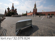 Купить «Москва, Красная Площадь летом», эксклюзивное фото № 32079824, снято 22 июня 2019 г. (c) Дмитрий Неумоин / Фотобанк Лори
