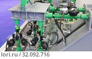 Купить «Международный авиационно-космический салон МАКС-2019. Вибродинамическая испытательная установка», видеоролик № 32092716, снято 27 августа 2019 г. (c) Игорь Долгов / Фотобанк Лори