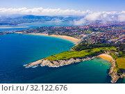 Купить «Spanish port city Santander», фото № 32122676, снято 14 июля 2019 г. (c) Яков Филимонов / Фотобанк Лори