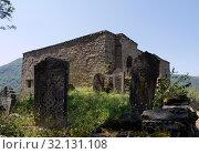 Купить «Крепость Кала-Корейш в Дагестане», фото № 32131108, снято 16 августа 2019 г. (c) Максим Гулячик / Фотобанк Лори
