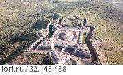 Купить «Panoramic landscape of fortress of Nossa Senhora da Graca in Elvas, Portugal», видеоролик № 32145488, снято 22 апреля 2019 г. (c) Яков Филимонов / Фотобанк Лори