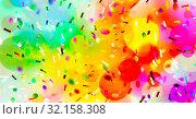 Abstrakt konfetti kreise bunt form farben konzept hintergrund. Стоковое фото, фотограф Zoonar.com/wolfgang rieger / easy Fotostock / Фотобанк Лори