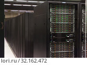 Купить «Server room of Barcelona Supercomputing Center», фото № 32162472, снято 16 января 2018 г. (c) Яков Филимонов / Фотобанк Лори