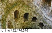 Купить «Famous landmark Quinta da Regaleira estate, Sintra. Portugal», видеоролик № 32176576, снято 21 апреля 2019 г. (c) Яков Филимонов / Фотобанк Лори
