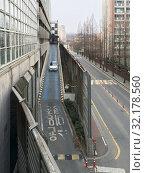 Купить «Car driving out of multi level car park, South Korea», фото № 32178560, снято 26 марта 2017 г. (c) Александр Подшивалов / Фотобанк Лори