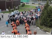 Купить «Крестный ход из Ильинского в Усово», эксклюзивное фото № 32180040, снято 15 сентября 2019 г. (c) Дмитрий Неумоин / Фотобанк Лори