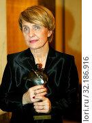 2003. Pictured: Danuta Hubner. Редакционное фото, фотограф jackowski henryk / age Fotostock / Фотобанк Лори