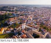 Купить «Santarem district with buildings and landscape, Portugal», фото № 32188684, снято 21 апреля 2019 г. (c) Яков Филимонов / Фотобанк Лори