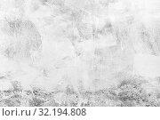 White concrete wall, background. Стоковое фото, фотограф EugeneSergeev / Фотобанк Лори