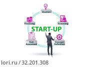Купить «Concept of start-up and entrepreneurship», фото № 32201308, снято 22 ноября 2019 г. (c) Elnur / Фотобанк Лори