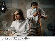 Купить «Psychiatrist preparing to give sedative injection», фото № 32207464, снято 9 августа 2019 г. (c) Tryapitsyn Sergiy / Фотобанк Лори