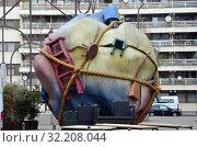 Городская скульптура в Берлине, Германия (2019 год). Редакционное фото, фотограф Светлана Колобова / Фотобанк Лори