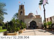 Иерихон монастырь пророка Елисея, Палестина (2016 год). Стоковое фото, фотограф Наталья Волкова / Фотобанк Лори