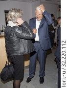 05.10.2014 Warsaw, Poland. Pictured: Jerzy Buzek, Krystyna Janda. Редакционное фото, фотограф BE&W AGENCJA FOTOGRAFICZNA SP. / age Fotostock / Фотобанк Лори