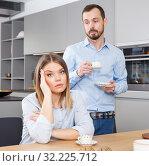 Купить «Couple finding out relationship», фото № 32225712, снято 24 мая 2018 г. (c) Яков Филимонов / Фотобанк Лори