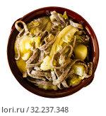 Купить «Pizzoccheri alla valtellinese - italian homemade buckwheat pasta», фото № 32237348, снято 8 декабря 2019 г. (c) Яков Филимонов / Фотобанк Лори