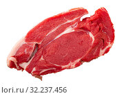 Raw beef sirloin steak. Стоковое фото, фотограф Яков Филимонов / Фотобанк Лори