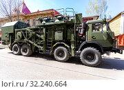 Купить «Army multi-purpose mobile communication complex», фото № 32240664, снято 5 мая 2018 г. (c) FotograFF / Фотобанк Лори