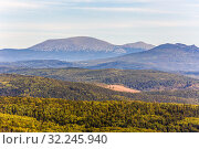 Купить «Mount Yamantau, the highest peak of the South Urals Bashkortostan Russia.», фото № 32245940, снято 1 сентября 2016 г. (c) Акиньшин Владимир / Фотобанк Лори