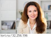 Portrait of businesswoman which is working. Стоковое фото, фотограф Яков Филимонов / Фотобанк Лори