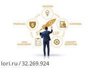 Купить «Concept of start-up and entrepreneurship», фото № 32269924, снято 22 ноября 2019 г. (c) Elnur / Фотобанк Лори