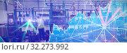 Купить «Composite image of stocks and shares», фото № 32273992, снято 28 мая 2020 г. (c) Wavebreak Media / Фотобанк Лори
