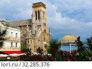 Sainte Eugenie church, Biarritz (2019 год). Стоковое фото, фотограф Яков Филимонов / Фотобанк Лори
