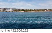 Купить «Mediterranean traffic along Pernera, Cyprus», видеоролик № 32306252, снято 20 октября 2019 г. (c) Володина Ольга / Фотобанк Лори