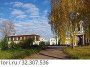 Купить «Усадьба Свиблово. Москва», фото № 32307536, снято 16 октября 2019 г. (c) Natalya Sidorova / Фотобанк Лори