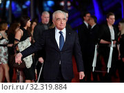 Купить «The director Martin Scorsese poses during the red carpet for 'The Irishman' at the 14th annual Rome Film Festival, in Rome, Italy, 21 October 2019.», фото № 32319884, снято 21 октября 2019 г. (c) age Fotostock / Фотобанк Лори