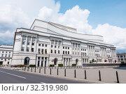 Teatr Wielki, Polish National Opera, Warsaw, Poland. Стоковое фото, фотограф Peter Erik Forsberg / age Fotostock / Фотобанк Лори