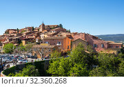 Village of Roussillon in the Provence (2016 год). Стоковое фото, фотограф Юлия Белоусова / Фотобанк Лори