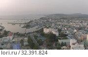 Купить «City life, Cars and Boats Phu Quoc city in Vietnam 4K Drone shot», видеоролик № 32391824, снято 4 ноября 2019 г. (c) Aleksejs Bergmanis / Фотобанк Лори