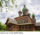 Church of St. John the Baptist, Yaroslavl (2019 год). Стоковое фото, фотограф Юлия Бабкина / Фотобанк Лори