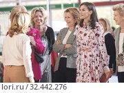 Купить «Queen Letizia of Spain attend 'Rastrillo Nuevo Futuro' on November 19, 2019 in Madrid, Spain», фото № 32442276, снято 19 ноября 2019 г. (c) age Fotostock / Фотобанк Лори