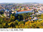 Купить «Cityscape of Kutna Hora, Czech Republic», фото № 32446708, снято 14 октября 2019 г. (c) Яков Филимонов / Фотобанк Лори