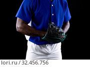 Купить «Baseball player», фото № 32456756, снято 25 октября 2019 г. (c) Wavebreak Media / Фотобанк Лори