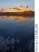 Купить «Коломна, Бобреневский монастырь поздней осенью», фото № 32508296, снято 23 ноября 2019 г. (c) Natalya Sidorova / Фотобанк Лори