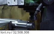Купить «Metal working machine at production plant video», видеоролик № 32508308, снято 7 ноября 2019 г. (c) Гурьянов Андрей / Фотобанк Лори
