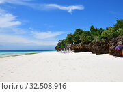 Купить «Kendwa beach, Zanzibar, Tanzania, Africa», фото № 32508916, снято 3 октября 2019 г. (c) Знаменский Олег / Фотобанк Лори
