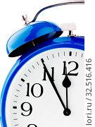 5 Minuten vor 12 auf einer Uhr. Veit für Entscheidungen. Стоковое фото, фотограф Zoonar.com/Erwin Wodicka / age Fotostock / Фотобанк Лори