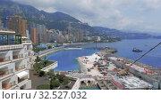 Купить «Monaco city summer Houses, historical buildings, streets, roads with cars in Monte Carlo», видеоролик № 32527032, снято 28 августа 2019 г. (c) Aleksejs Bergmanis / Фотобанк Лори