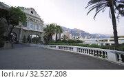 Купить «Monte Carlo Casino and Histotical buildings in Monaco», видеоролик № 32527208, снято 5 сентября 2019 г. (c) Aleksejs Bergmanis / Фотобанк Лори