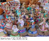 Славянская кукла-оберег. Стоковое фото, фотограф EgleKa / Фотобанк Лори