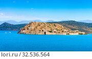 Fortress of Spinalonga, Crete, Greece (2019 год). Стоковое фото, фотограф photoff / Фотобанк Лори