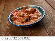 Купить «Mutton Afghani Korma, Afghan meat Curry , Afghan cuisine.», фото № 32569032, снято 28 января 2020 г. (c) easy Fotostock / Фотобанк Лори