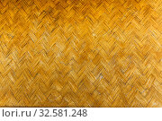 Philippines. Palawan Island. Wicker mat in a traditional home interior. Стоковое фото, фотограф Степанов Илья / Фотобанк Лори