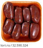 Купить «Blood sausages», фото № 32590324, снято 8 апреля 2020 г. (c) Яков Филимонов / Фотобанк Лори