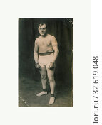 Tommy Burns. Photo F, 1912. Редакционное фото, фотограф ARTOKOLORO QUINT LOX LIMITED / age Fotostock / Фотобанк Лори